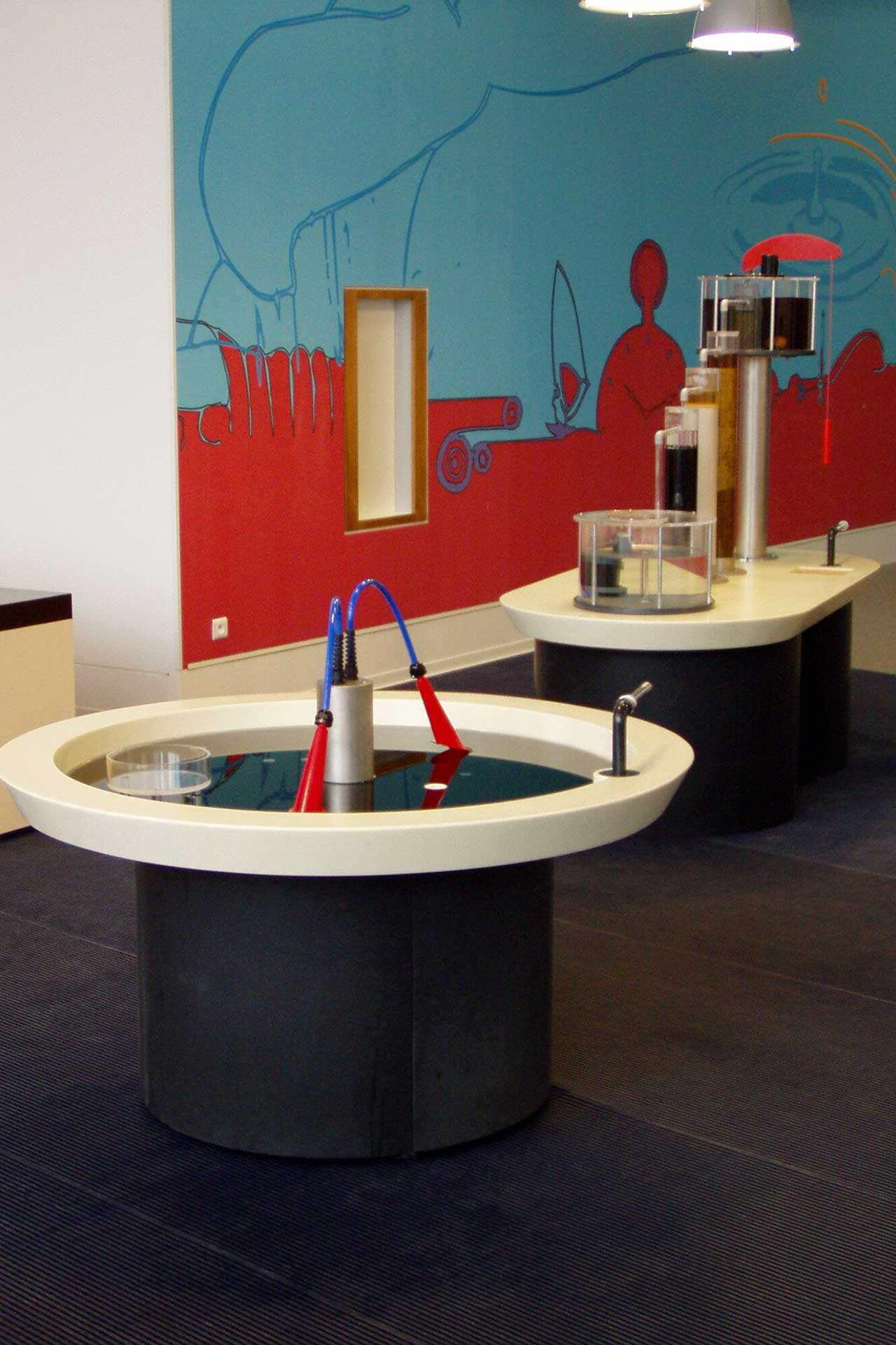 Maquettes et prototypes Expositions interactives