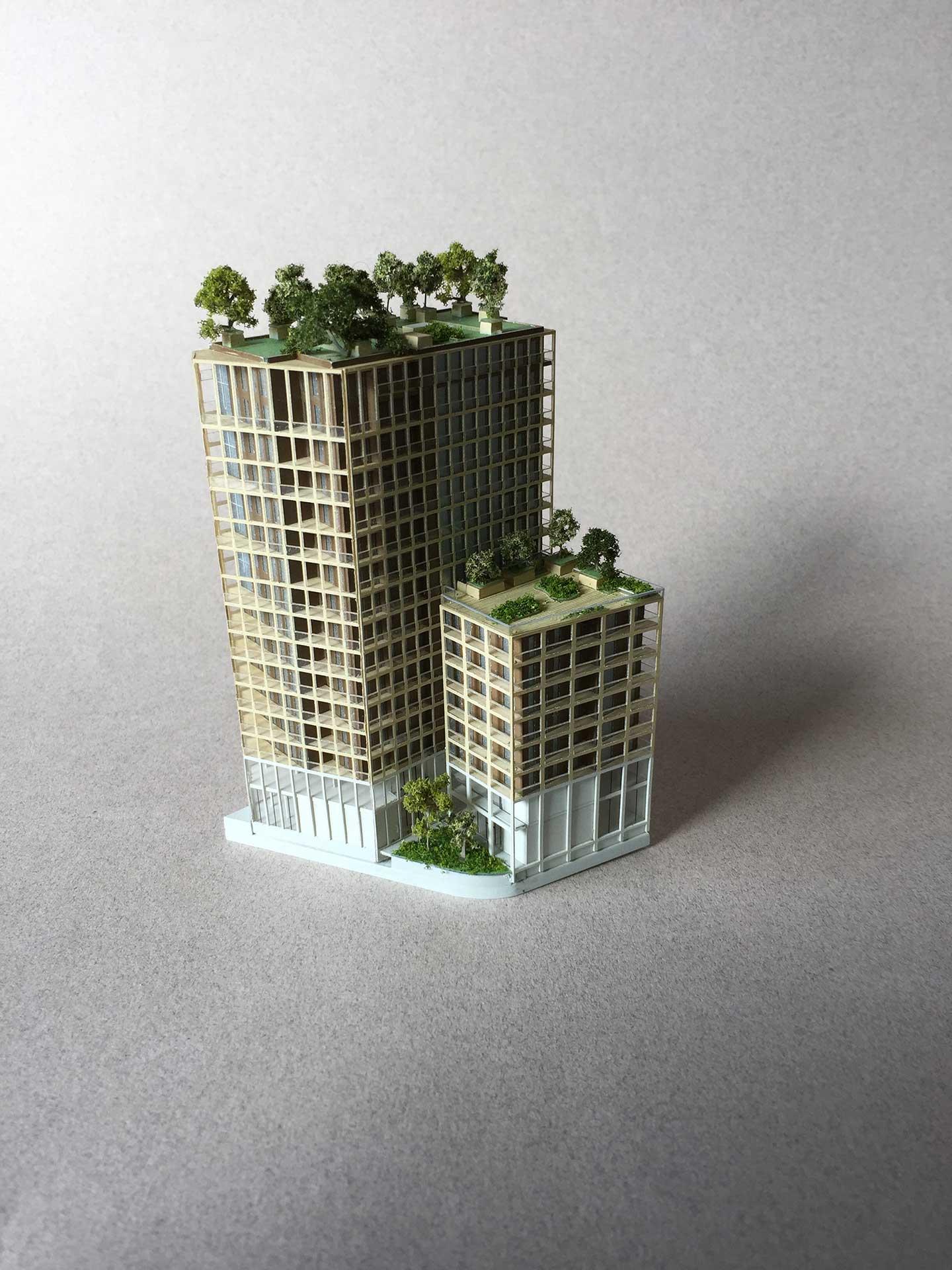Maquettes et prototypes Architecture